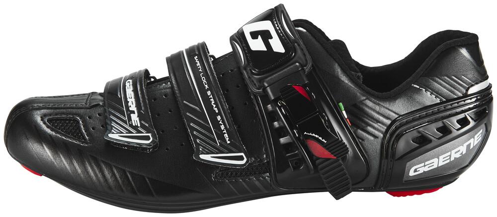 Chaussures Gaerne Noir Pour L'été Avec Des Hommes De Fermeture Velcro ROBHzci